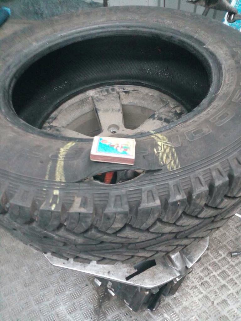 Ремонт боковых порезов шин
