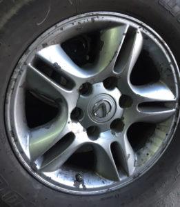 ржавчина на колёсных дисках