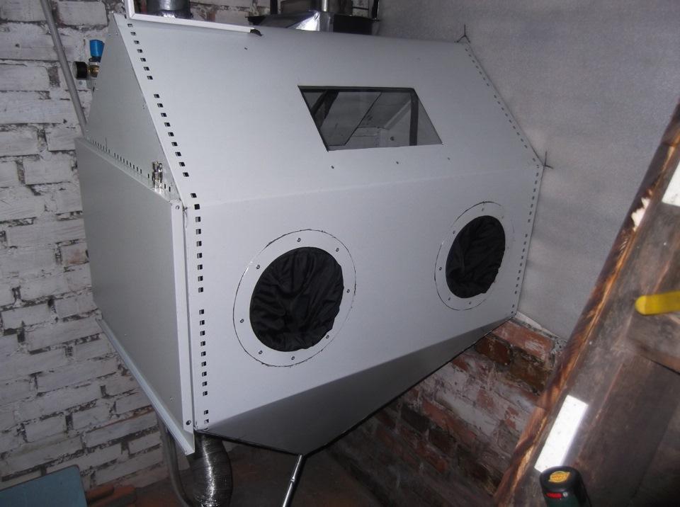 камера для пескоструйной обработки